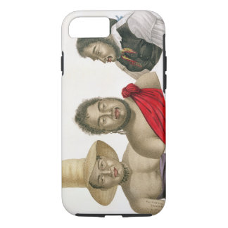 Portraits of chiefs of the Sandwich Islands, from iPhone 7 Case