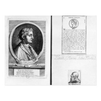 Portraits of Horace  Scipio Aemilianus Postcard