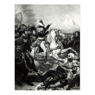 Portrayal of Napoleon as the Conquering Hero Postcard