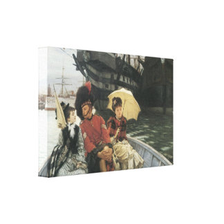 Portsmouth Dockyard c 1877 Gallery Wrapped Canvas