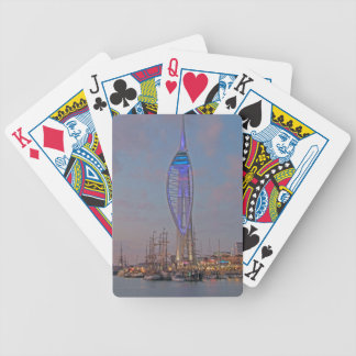 Portsmouth, Hampshire, England Bicycle Playing Cards