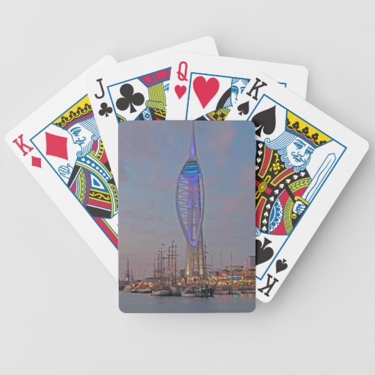 Portsmouth, Hampshire, England Poker Deck