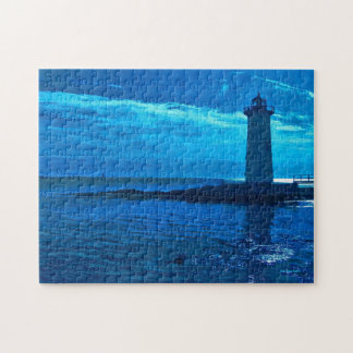 Portsmouth Harbor -Blue Puzzle