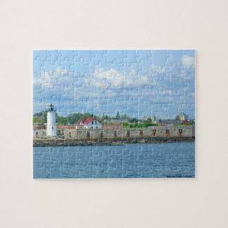 Portsmouth Harbor Lighthouse Puzzle