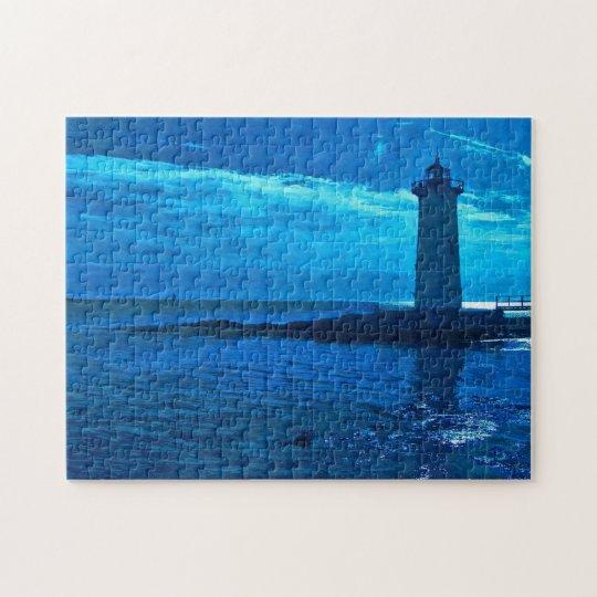 Portsmouth Harbour -Blue Puzzle