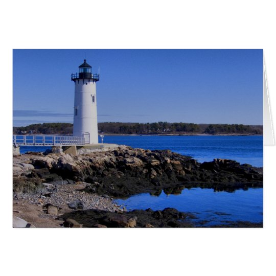 Portsmouth Harbour Lighthouse Card