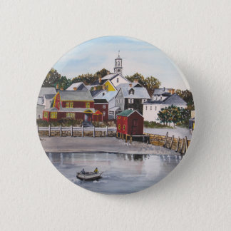 Portsmouth Harbour, New Hampshire 2 Inch Round Button