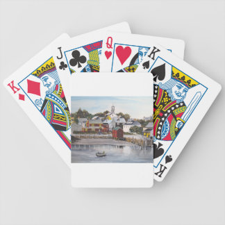 Portsmouth Harbour, New Hampshire Bicycle Playing Cards