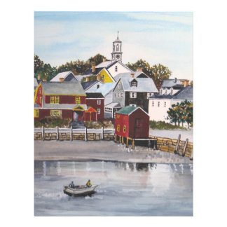 Portsmouth Harbour, New Hampshire Letterhead