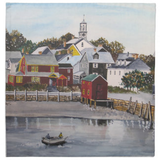 Portsmouth Harbour, New Hampshire Napkin