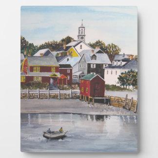 Portsmouth Harbour, New Hampshire Plaque