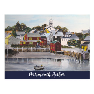 Portsmouth Harbour, New Hampshire Postcard