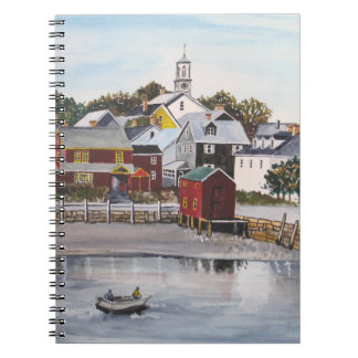 Portsmouth Harbour, New Hampshire Spiral Notebook