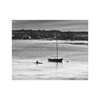 Portsmouth, NH Harbor Canvas Print
