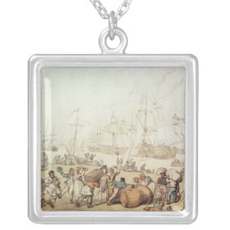 Portsmouth Point, 1811 Silver Plated Necklace