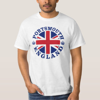 Portsmouth Vintage UK Design T-Shirt