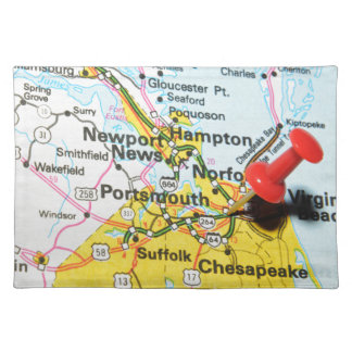 Portsmouth, Virginia Placemat