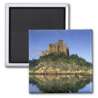 Portugal, Almourol. Castelo do Almourol built Magnet