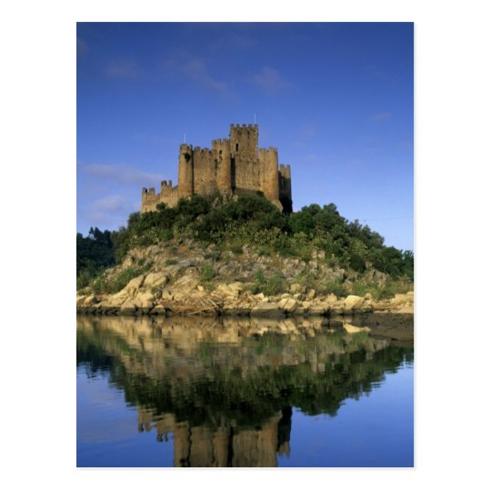 Portugal, Almourol. Castelo do Almourol built Postcard