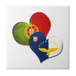 Portugal and Azores hearts Tiles