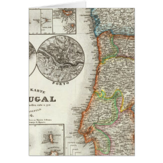 Portugal and Cape Verde Islands Greeting Card