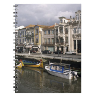 Portugal, Aveiro. Moliceiros (seaweed collecting Spiral Notebooks