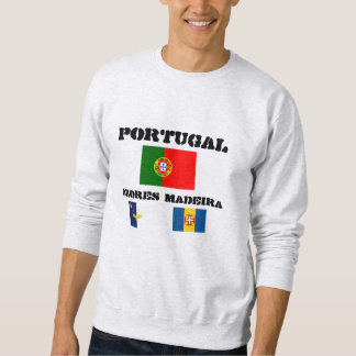 Portugal, Azores, Madeira Flags Sweatshirt
