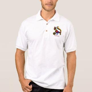 """Portugal barcelos """"galo"""" jogador de futebol polo shirt"""