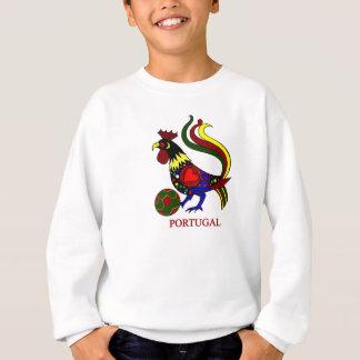 "Portugal barcelos ""galo"" jogador de futebol sweatshirt"