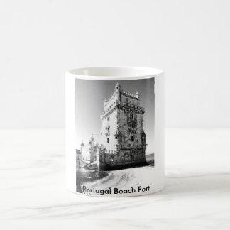 Portugal Beach Fort Coffee Mug