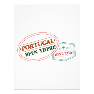 Portugal Been There Done That Letterhead