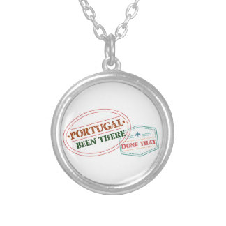 Portugal Been There Done That Silver Plated Necklace