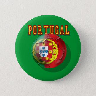 """""""Portugal"""" Bola por Portugueses 2 Inch Round Button"""