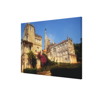 Portugal, Bussaco Palace. Gallery Wrap Canvas