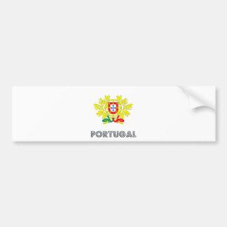 Portugal Coat of Arms Bumper Sticker