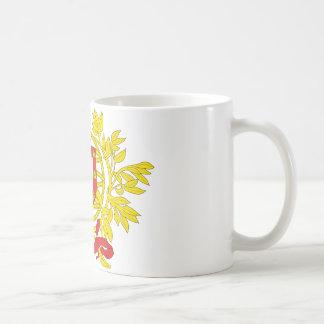 Portugal coat of arms coffee mug