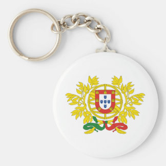 Portugal coat of arms keychain