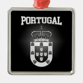Portugal Coat of Arms Metal Ornament