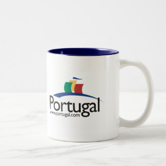 Portugal.com Two-Tone Coffee Mug