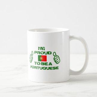 Portugal design coffee mug