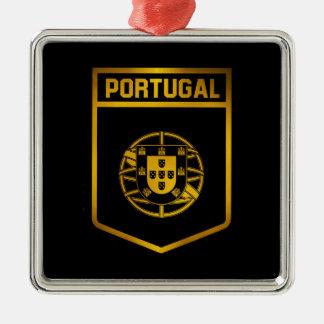 Portugal Emblem Metal Ornament