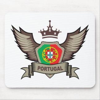 Portugal Emblem Mouse Pad