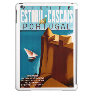 Portugal Estoril Vintage Travel Poster Restored Case For iPad Air