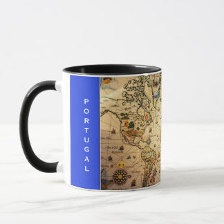 Portugal Exploration Map Mug