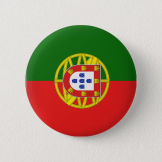 Portugal Flag 2 Inch Round Button