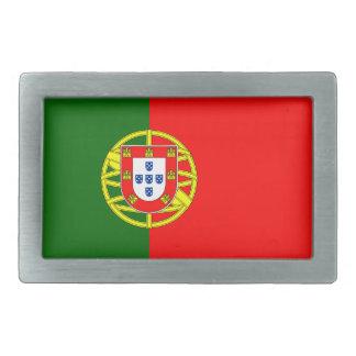 Portugal Flag Belt Buckle