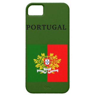 PORTUGAL FLAG  i Phone SE+ 5/5S, Barely There Case For The iPhone 5