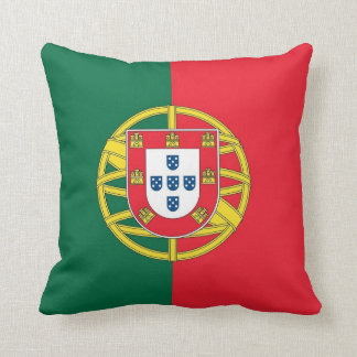 Portugal Flag on American MoJo Pillow