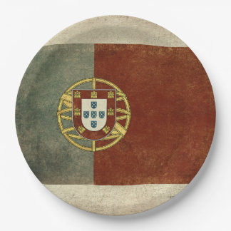 Portugal Flag Paper Plates
