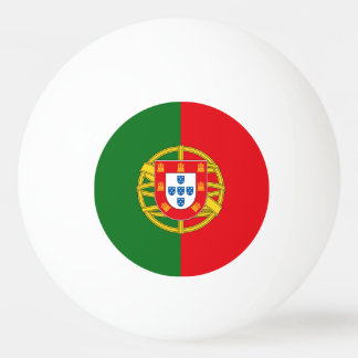 Portugal Flag Ping Pong Ball